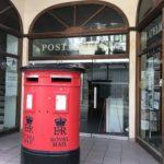 British mailbox