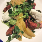 Pear salad at Woodstock Arms
