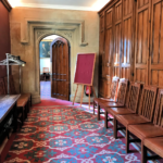 A hallway in the University of Oxford