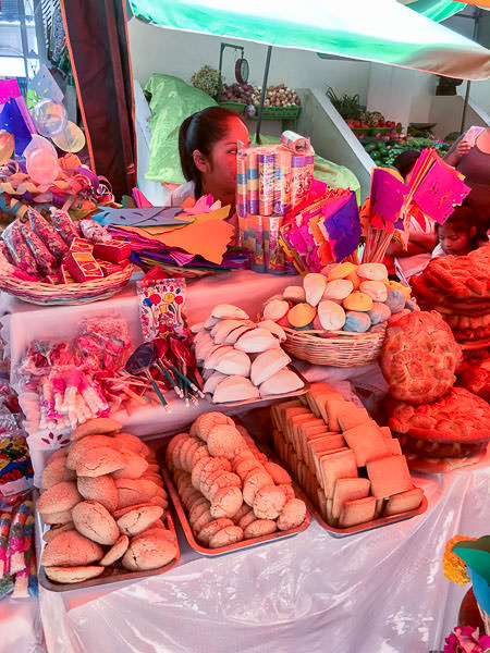 Small cakes at the Mercado Central in Tarija
