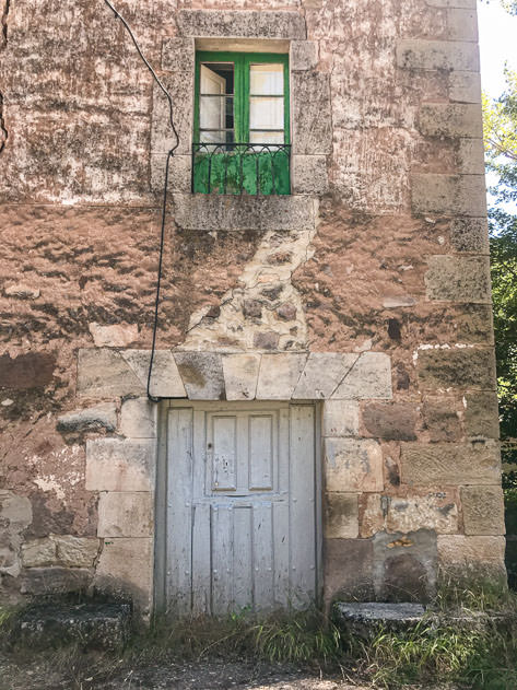 Entrance door to the mill