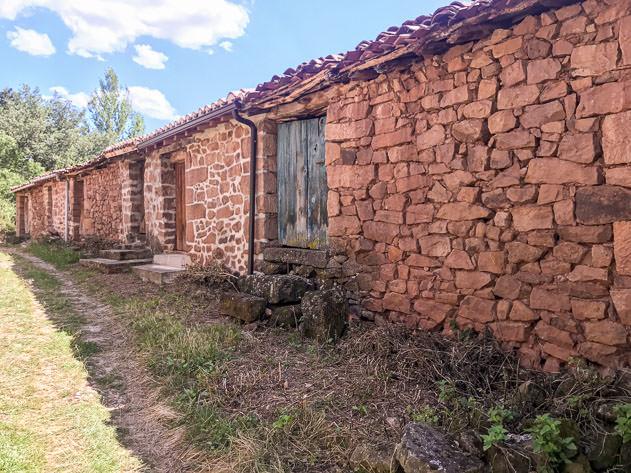 Stone constructions in Castrovido