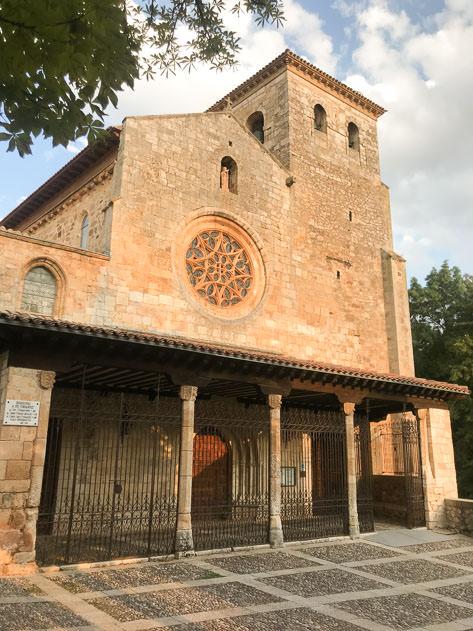 The Excolegiata de San Cosme y San Damián in Covarrubias is one of the main historic buildings