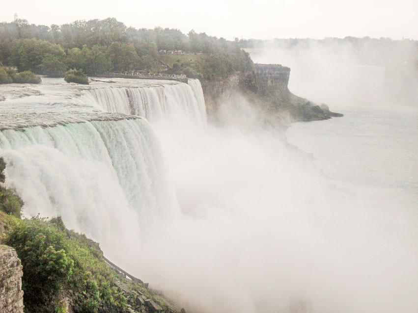 I was glad to finally visit the Niagara Falls!