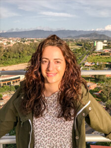 Posing from the top of La Copa in Tarija