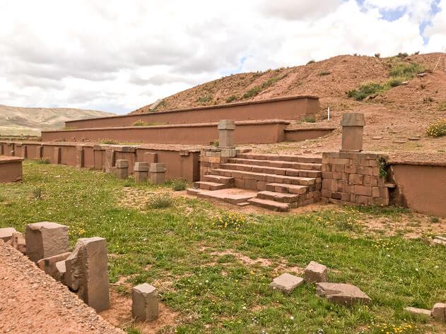 Akapana pyramid