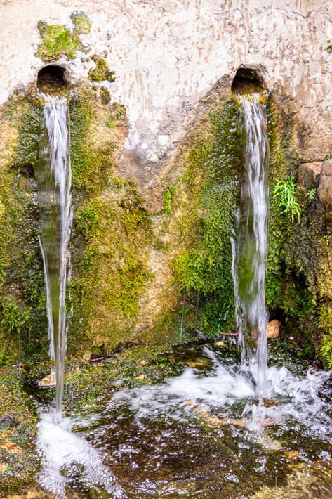 Fuente del Inca in Yumani