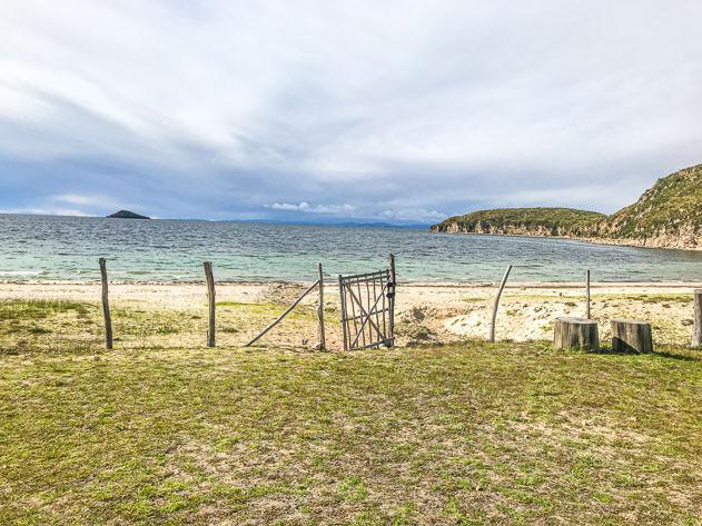Playa de la Sirena in Challapampa