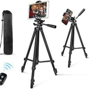 Tripod for phone, tablet or camera
